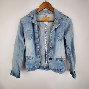 Maurices White Wash Jean Jacket
